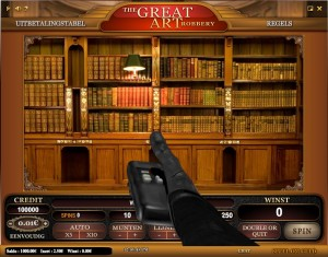 The Great Art Robbery online casino slotmachine